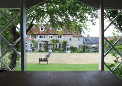 View from the summer house